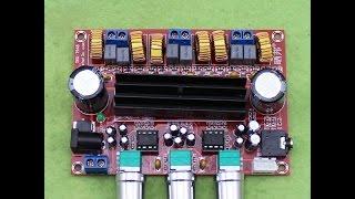 [Bán MĐ] Thử nghiệm mạch khuếch đại âm thanh 2.1 CLASS D 200W