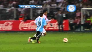 Peru vs Argentina 11-09-2012 en HD clasificatorias Brasil 2014