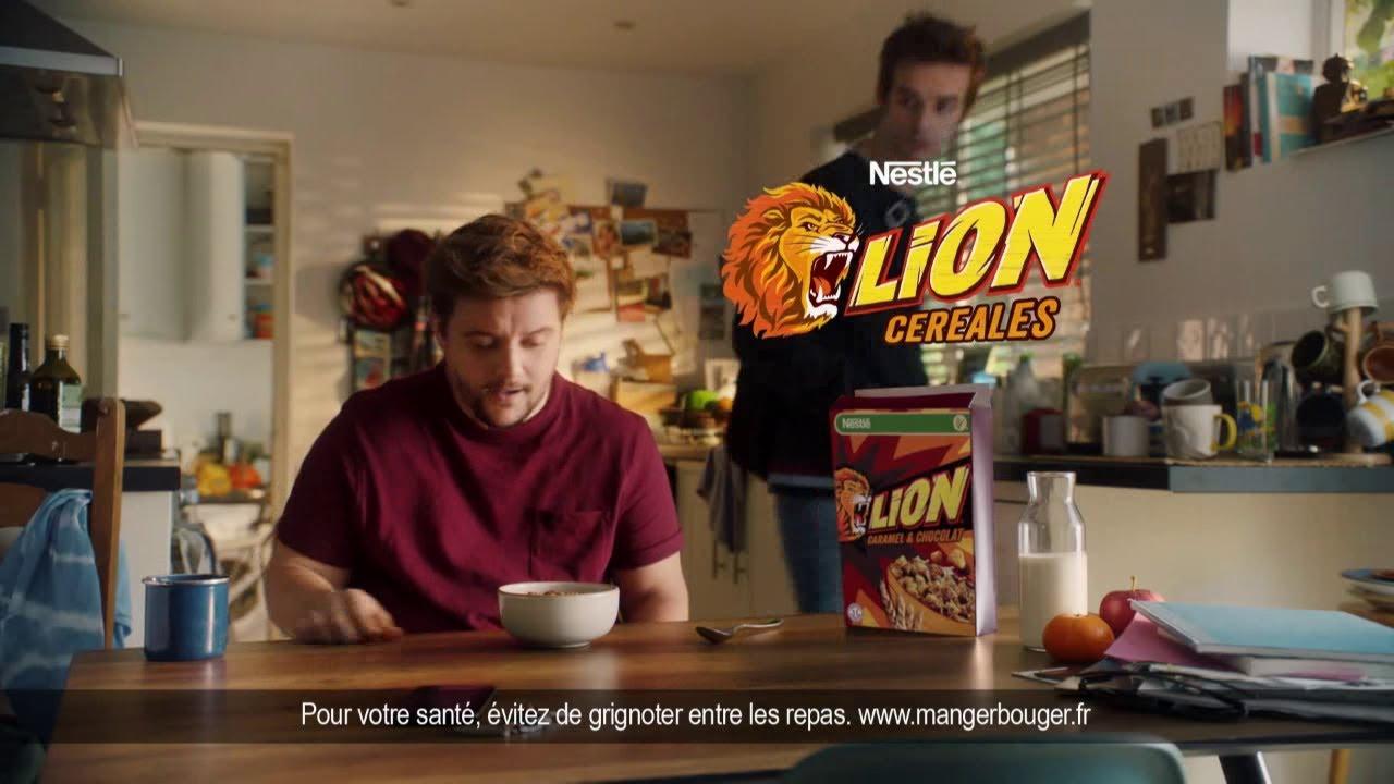 """Musique de la pub Céréales Lion Wild Nestlé """"Marc Capitaine cuillère a le Lion Style""""  2021"""
