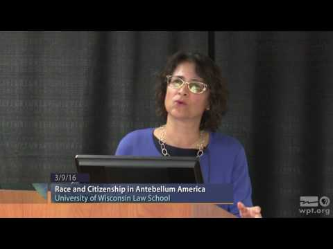 WPT University Place: Race and Citizenship in Antebellum Ame