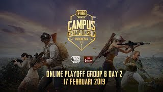PUBG Mobile Campus Championship - Online Playoff Group B Day 2
