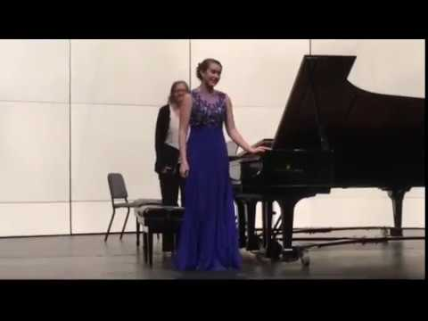 Abigail Cook - Rachmaninoff Piano Concerto No. 2, Op. 18 in C Minor - 1st and 2nd mvts.