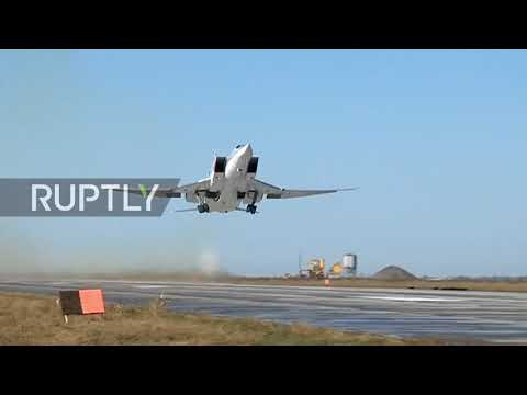 Syria: Russian strategic bombers strike IS strongholds in Deir ez-Zor