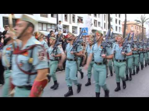 La Legion vuelve a desfilar por las calles de Algeciras