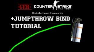 CS:GO Jumpthrow bind Tutorial Deutsch die 100 % sichere Smoke