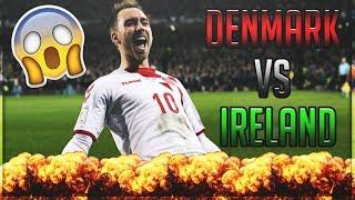 DANMARK VS IRLAND 5-1 (HIGHLIGHTS!) - 2017