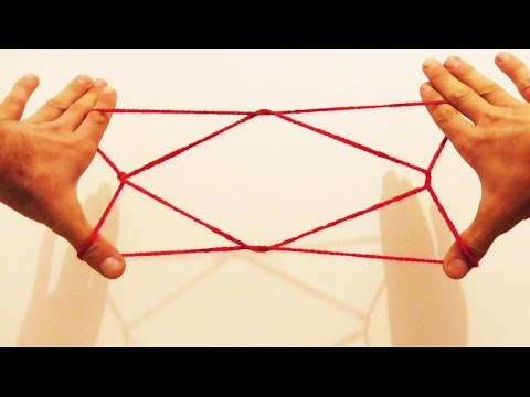 Learn How To Do A 1 Diamond Jacob's Ladder String Figure/String Trick