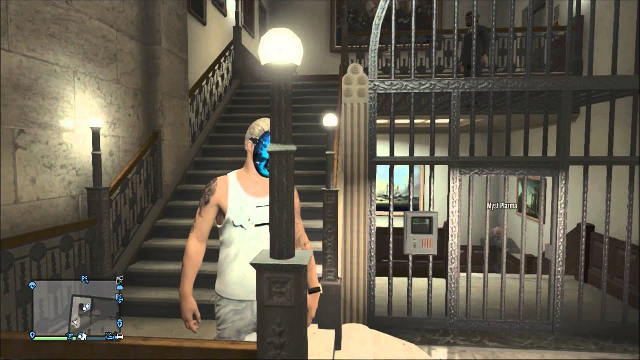 how to get in a bank in gta 5