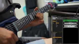 Dream Theater - Repentance guitar solo ( guitar rig )