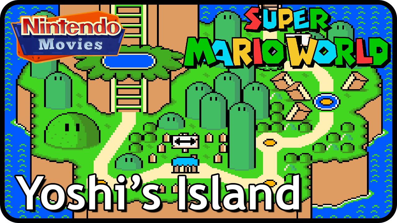 Super Mario World  Yoshi S Island Snes