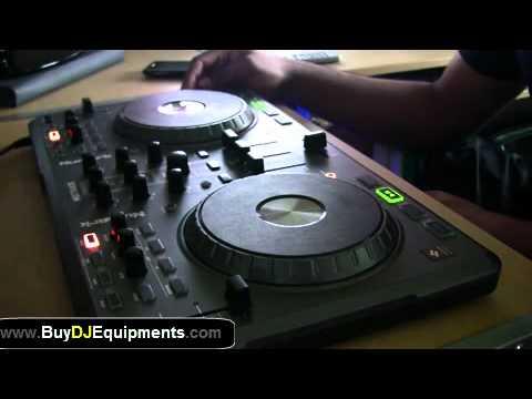 Numark MIXTRACK DJ Software Controller Live Demo Revealed