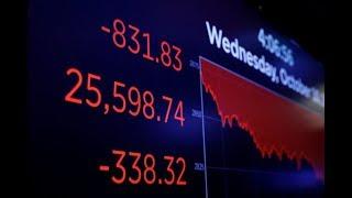 华尔街电视新闻   股市暴跌原因揭晓;美国新规严审所有中资收购;加拿大人拒喝美国牛奶(20181011)