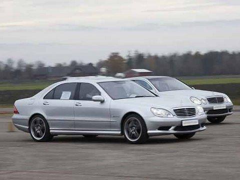HD Mercedes S65 AMG vs Mercedes E55 AMG Komprssor  YouTube
