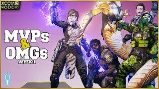 👽 MVPs and OMGs 👽 Week 1 Highlights and Recap - XCOM 2 War of the Chosen Legend Modded