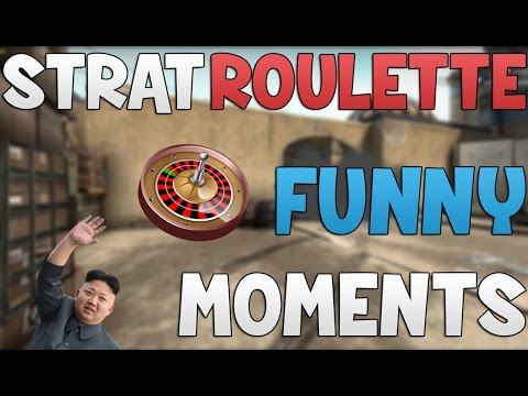 CS:GO - Strat Roulette -  Funny Moments!