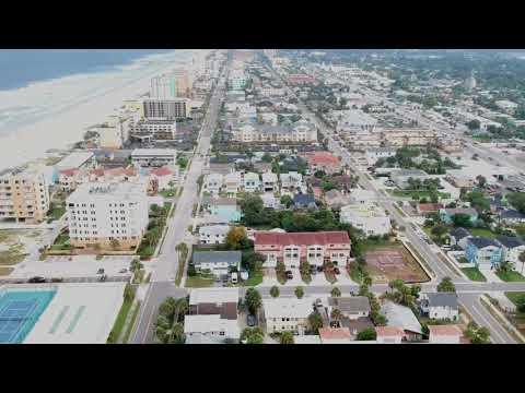 DJI spark captures pre-hurricane Irma weather in Jacksonville Florida