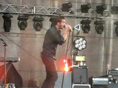 Editors - New song: Eat Raw Meat=Blood Drool (INmusic Festival 2009)