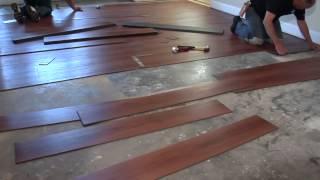 كيفية تركيب الباركيه او الارضيات الخشبية تصميم داخلي الرياض Youtube