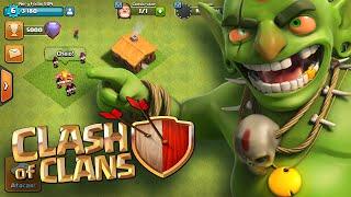Novo começo NUNCA VISTO no Clash of Clans - Versão de Desenvolvedor