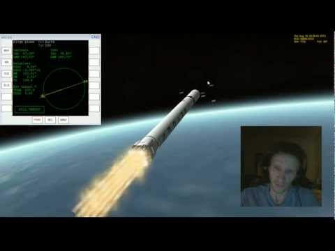 Orbiter 2010 - Fly With Me #7 - SpaceX Falcon 9 Dragon Capsule Launch [FAIL]