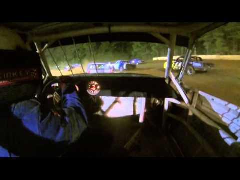Feature Race In-car Sabine Motor Speedway 9/27/14