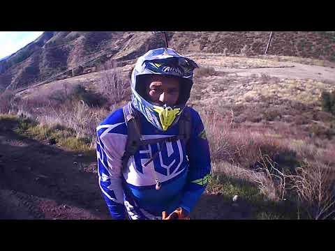 Dirt Bike Ride By Green Valley Walking Trail Hard