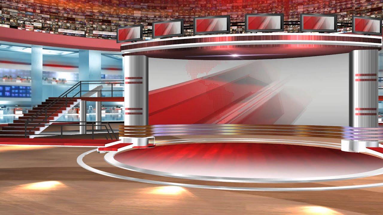 VIRTUAL STUDIO NEWSROOM 5 - YouTube