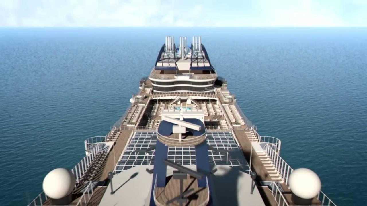 Navire Msc Meraviglia de Msc Croisières - YouTube