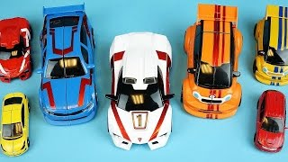 TOBOT car toys and CarBot transformers mini car toys