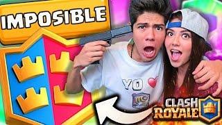 ¡JUGANDO con mi HERMANA en el 2 VS 2 de Clash Royale! - [ANTRAX] ☣