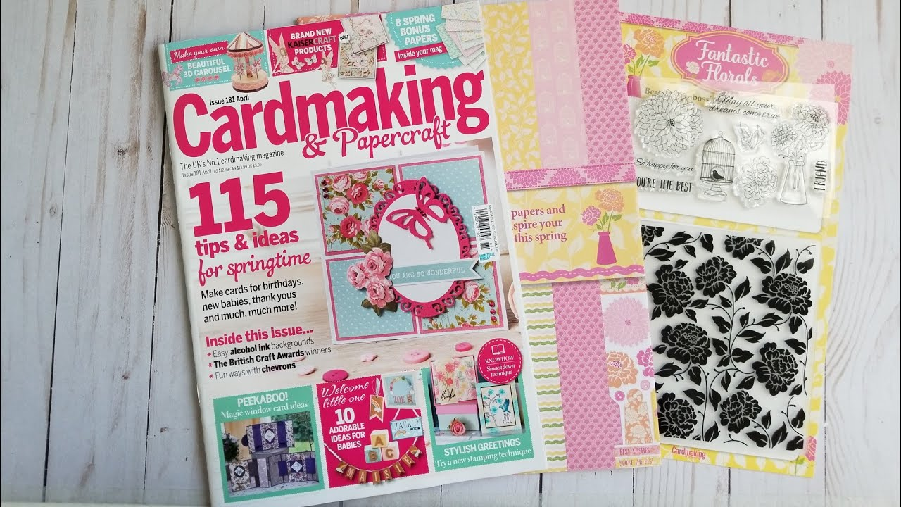Cardmaking And Papercraft Issue 181 Magazine Review Youtube