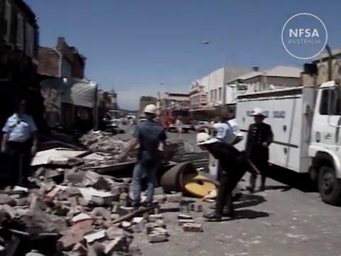 Newcastle earthquake, 1989 - YouTube