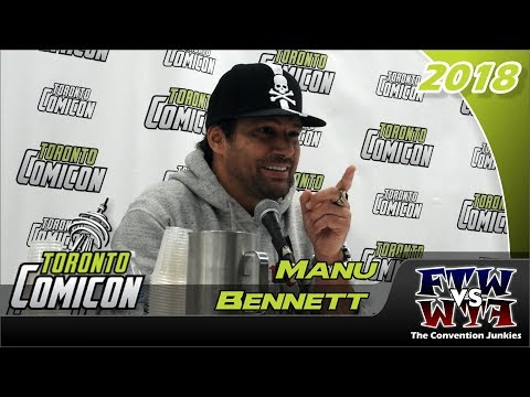Manu Bennett Arrow, Spartacus Toronto ComiCon 2018 Full Panel