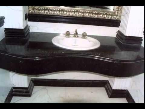 Bagni In Marmo Nero : Lg marmi e pietre top bagno nero assoluto youtube