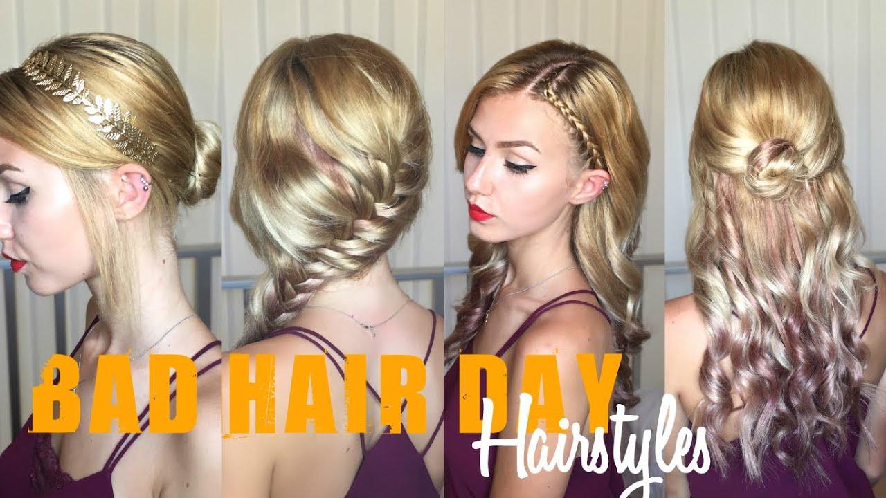 bad hair day hairstyles/ back-to-school hair   stella