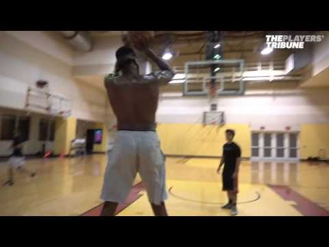 Willie Reed and Wilson Chandler - NBA Offseason Workout