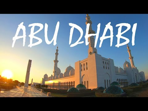 Exploring Abu Dhabi & the Beautiful Sheikh Zayed Mosque