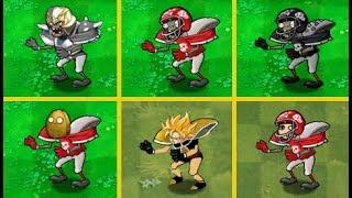 Plants vs Zombies Mod All Football Zombie ††