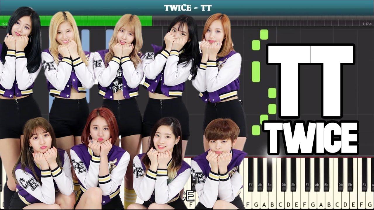 Download TT Piano Tutorial - Free Music Sheet (TWICE) MP3