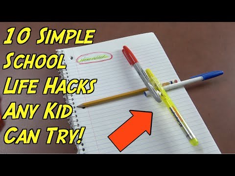 Thumbnail: 10 School Hacks That Any Kids Can Try- Simple Life Hacks For Kids (Back To School Hacks)
