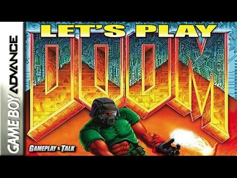 Let's Play DOOM for the Nintendo Game Boy Advance