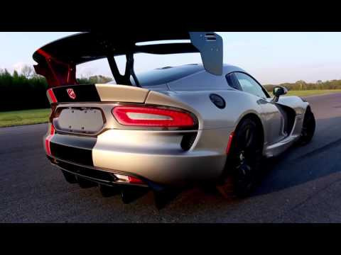 FCA US Media - 2016 Dodge Viper ACR Is Undisputed Track