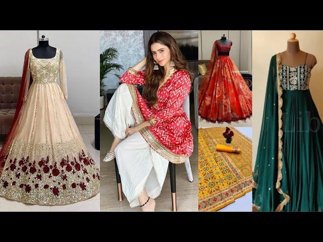 Designer Lehenga Choli / Salwar Kameez / Gowns / Silk Saree Collections l Online Shopping review