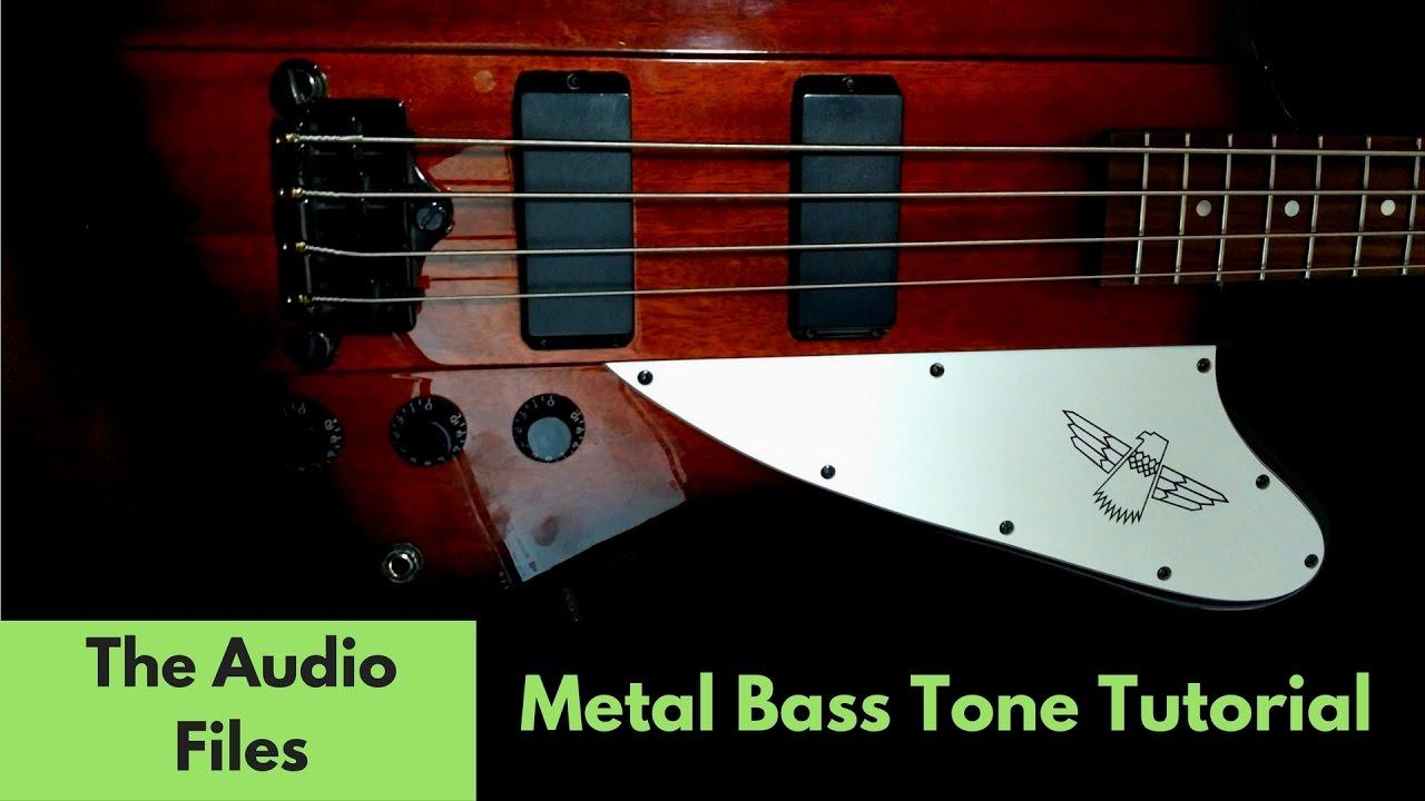 Metal Bass Tone Tutorial (Free Plugins only!)