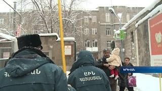 Վտանգավոր է կյանքի ու առողջության համար  ԱԻՆ ը մաքրում է Երևանի սառցաշիթերը