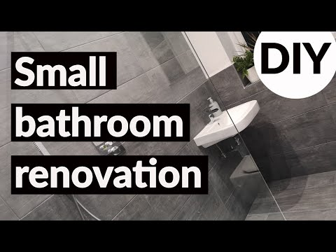 DIY SMALL BATHROOM RENOVATION/ Making the most of our ensuite