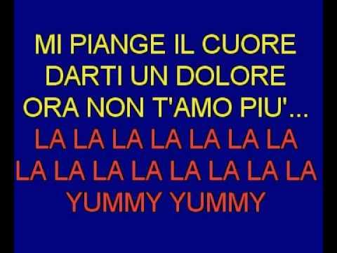 Yummy Yummy Yummy Karaoke italiano.avi
