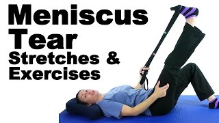 Meniscus Tear Stretches & Exercises - Ask Doctor Jo