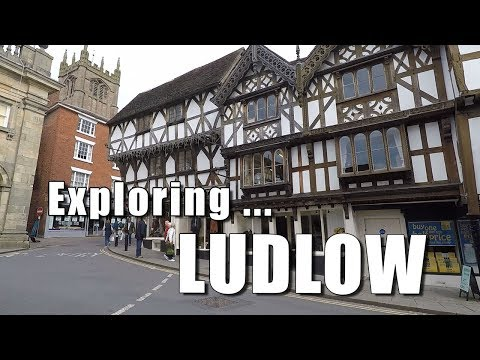 Walks in Shropshire: Exploring Ludlow