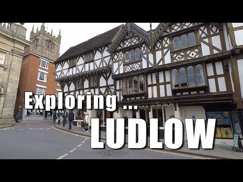 Walks In Shropshire: Exploring Ludlow